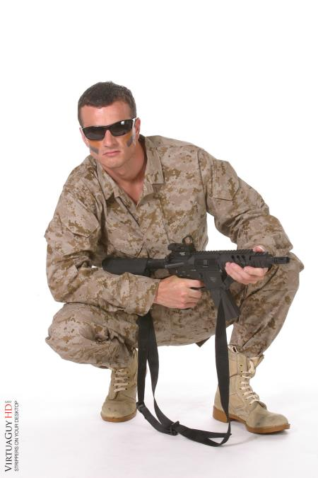 military striptease show
