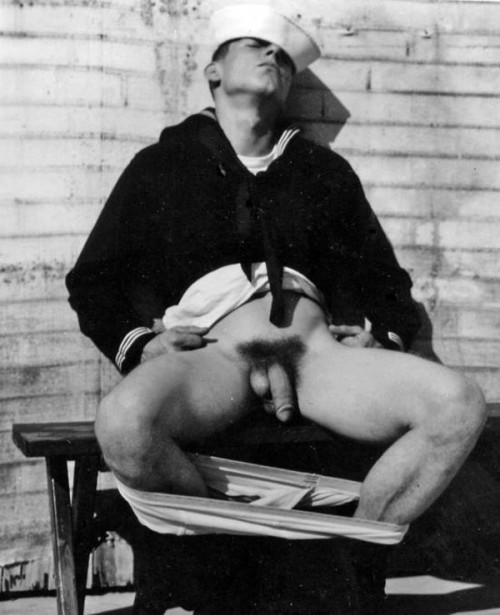 gay vintage navy marine nude
