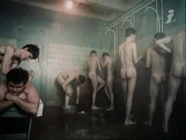 nude soldiers common showers