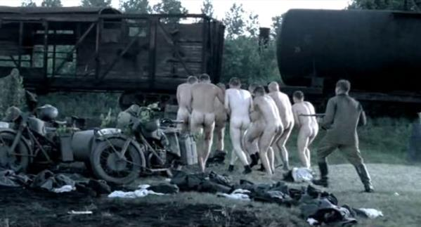 forced nudity in the army