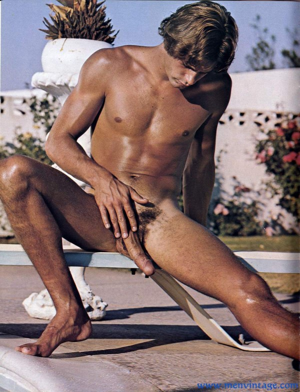 sportsman nude with erection