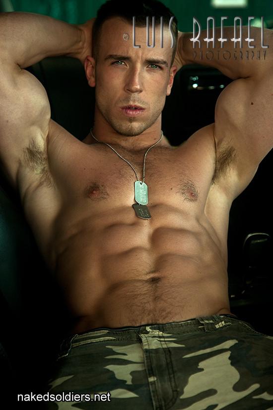 Hot military hunk