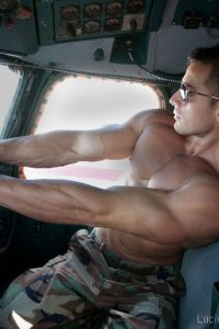 Hot military pilot