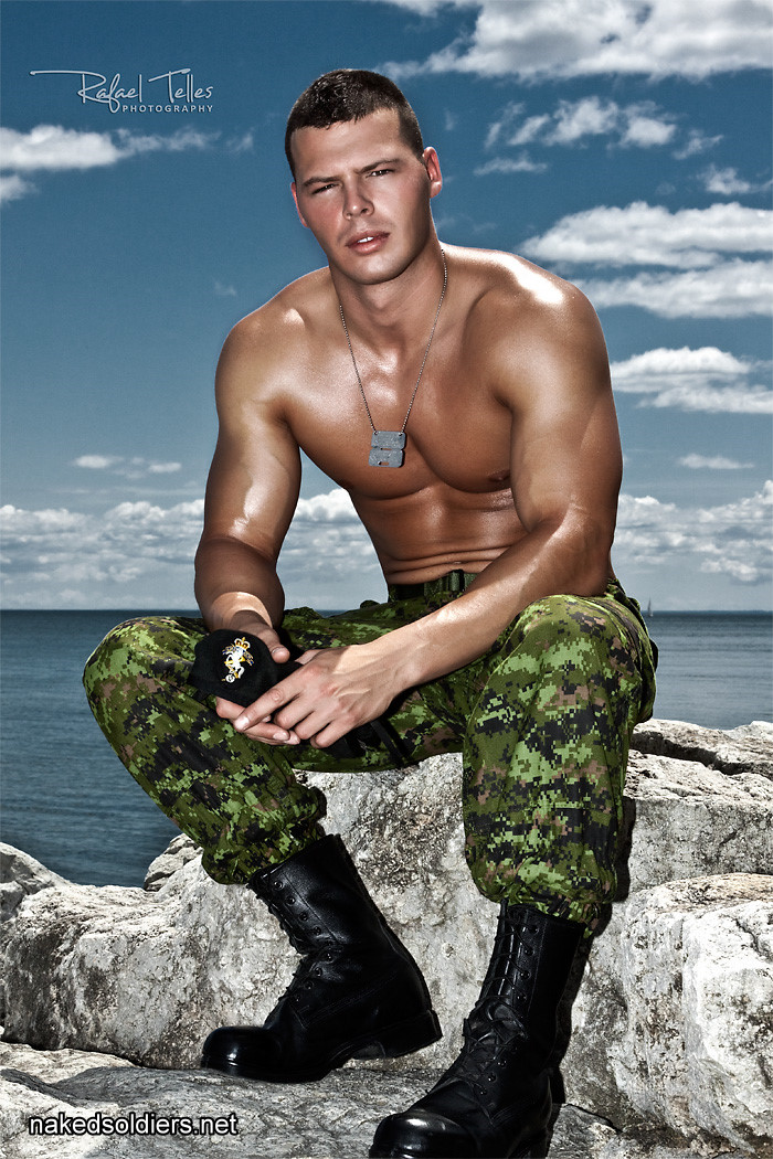 Muscle soldier gay erotica