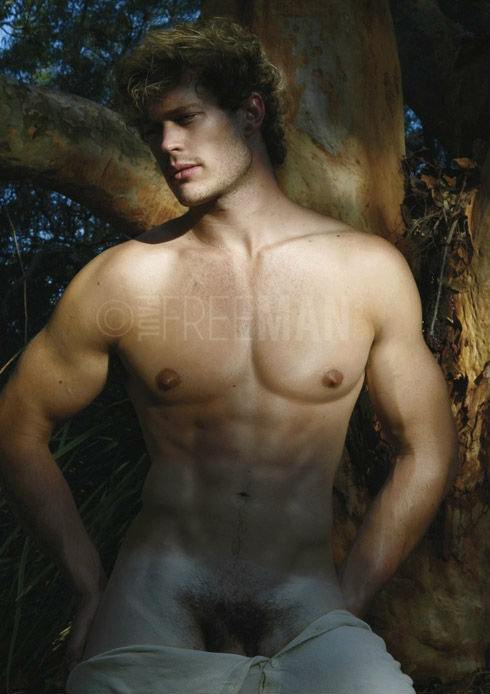 smooth hunk naked