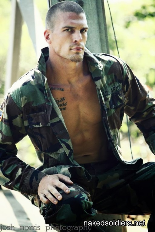 Charming soldier model