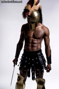 Hot gladiator nude