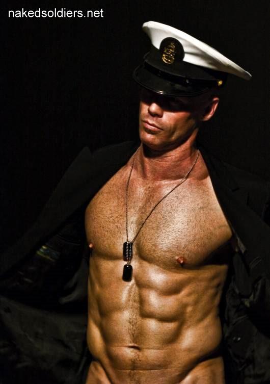 Hot navy man