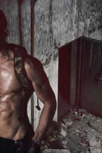 Military man nude
