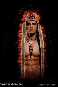 Muscle indian warrior erotica