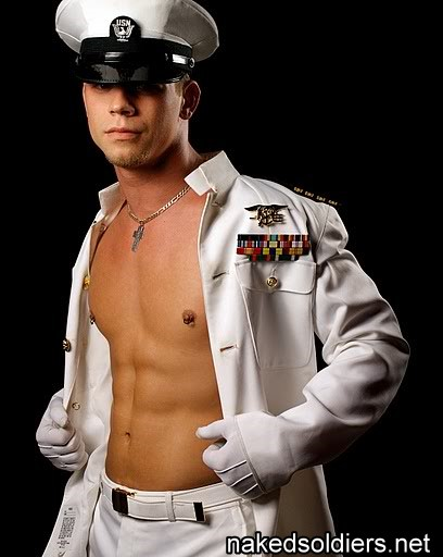 Muscle navy commander