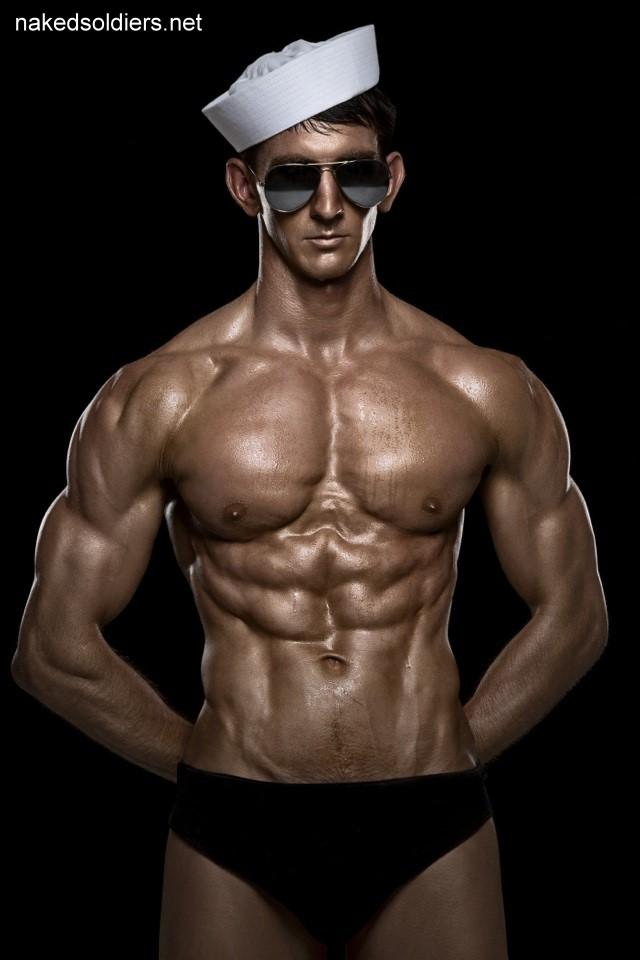 Sexy muscle navy man erotica