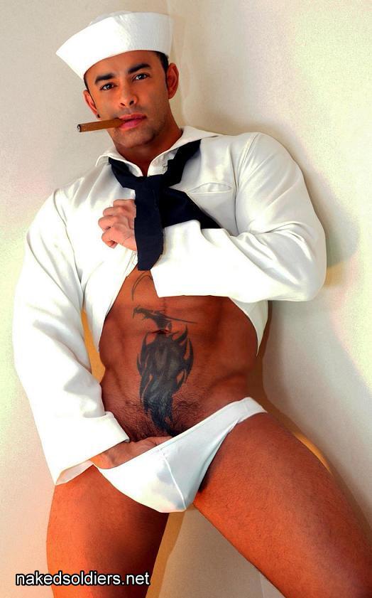 Sexy navy boy