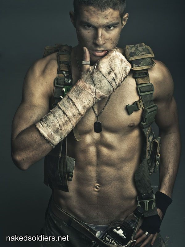 Sexy soldier amazing