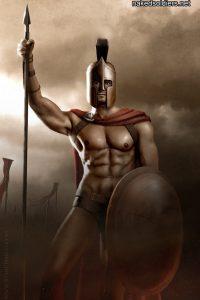 Mighty Warrior naked erotica