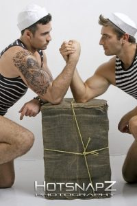 Two sailors naked