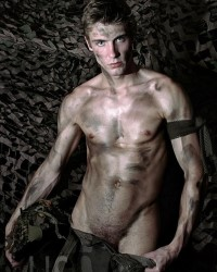 army boys nude
