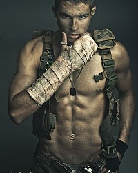 model men military uniform