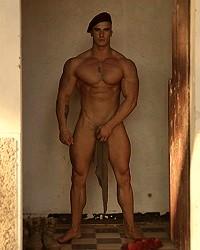 military men nude