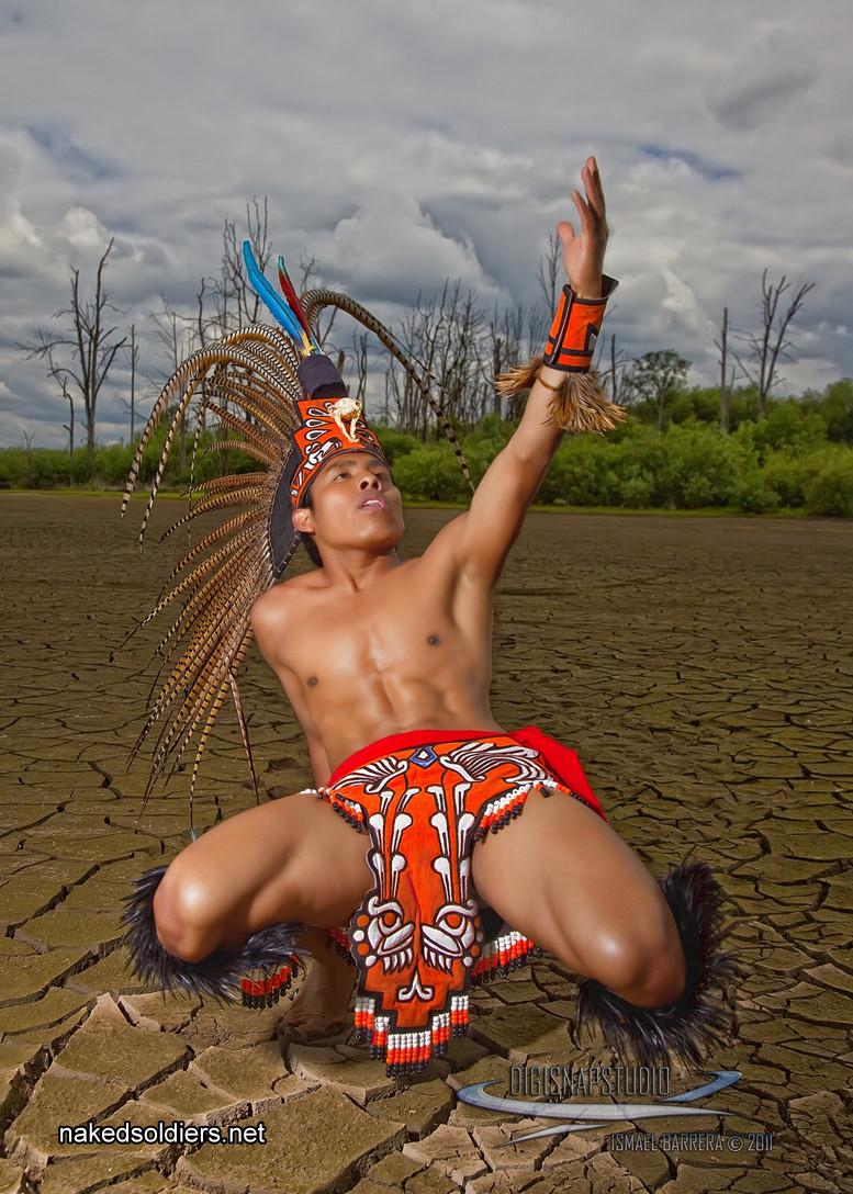 Sexy indian warrior