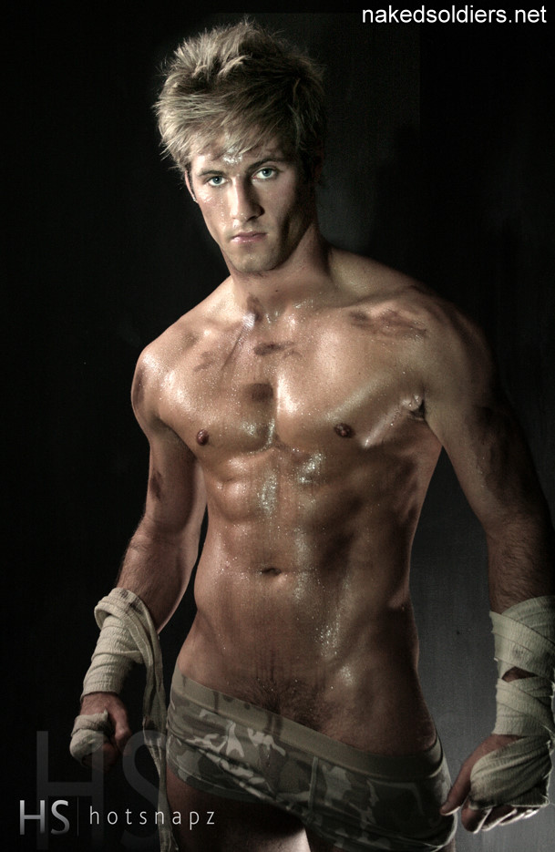sweet muscle soldier naked