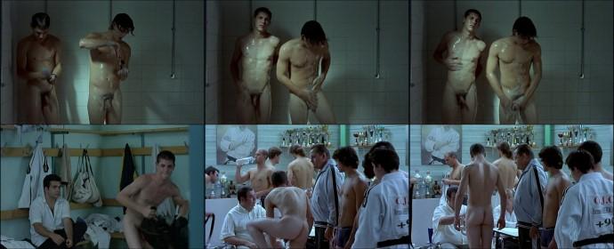 french guys showering